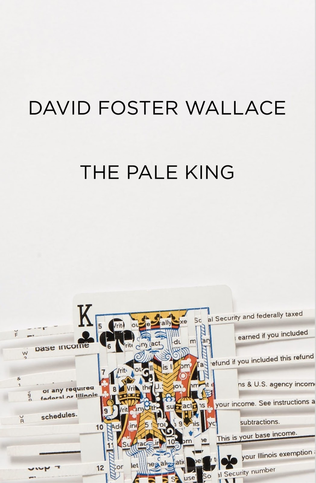 The Pale King book cover